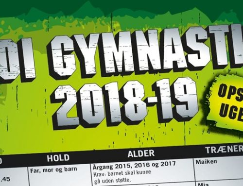 Gymnastik – Se træningstiderne her