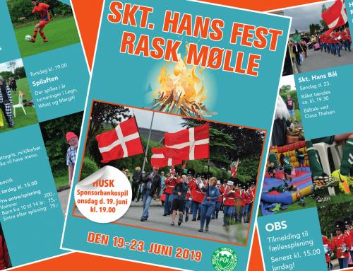 Sankt Hans Festen 2019 – Se programmet her