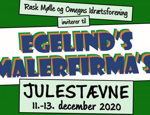 Egelind's Malerfirma's Julestævne 2020 – tilmeld jeres hold her!