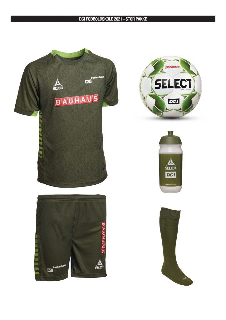 DGI Fodboldskole pakke 2021